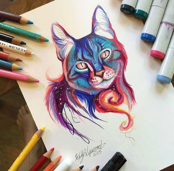 Cat draw