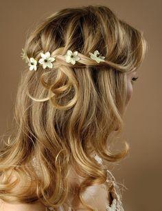 13 best Wedding Hair images on Pinterest   Bridal hairstyles ...