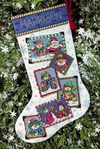 Dimensions Counted Cross Stitch Christmas Stockings