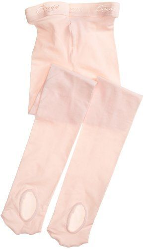 Capezio Girls 2-6x Ultra Soft Transition Tight,Ballet Pink,One Size (2-6x) Capezio. $11.14. Dyed-to-match gusset. Plush elastic waistband. 100% Nylon. Imported. One size fits sizes 2 thru 6. Hand or machine wash in cold water, tumble dry low.. Hand wash mild detergent. no bleach. hang to dry.. 86% Tactel® Nylon, 14% Spandex. Save 14% Off!