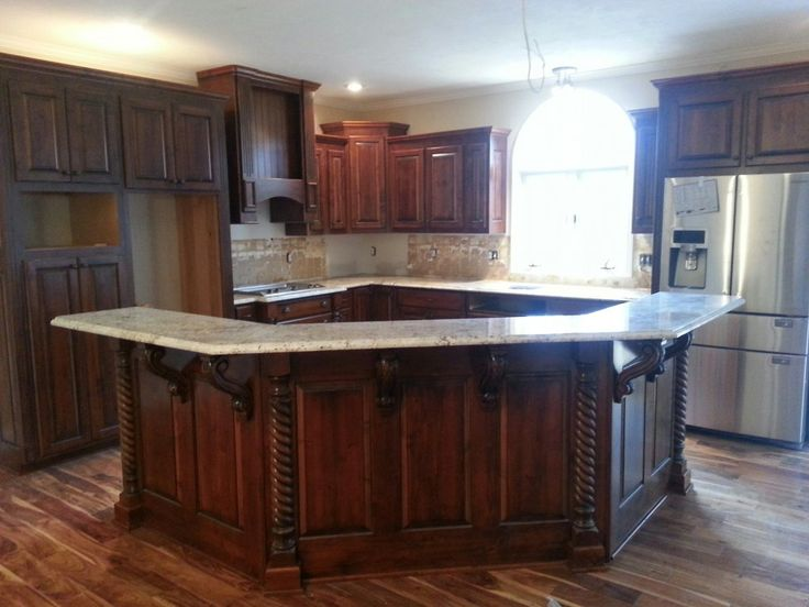 17 Best Ideas About Small Kitchen With Island On Pinterest Small Kitchens Small Kitchen