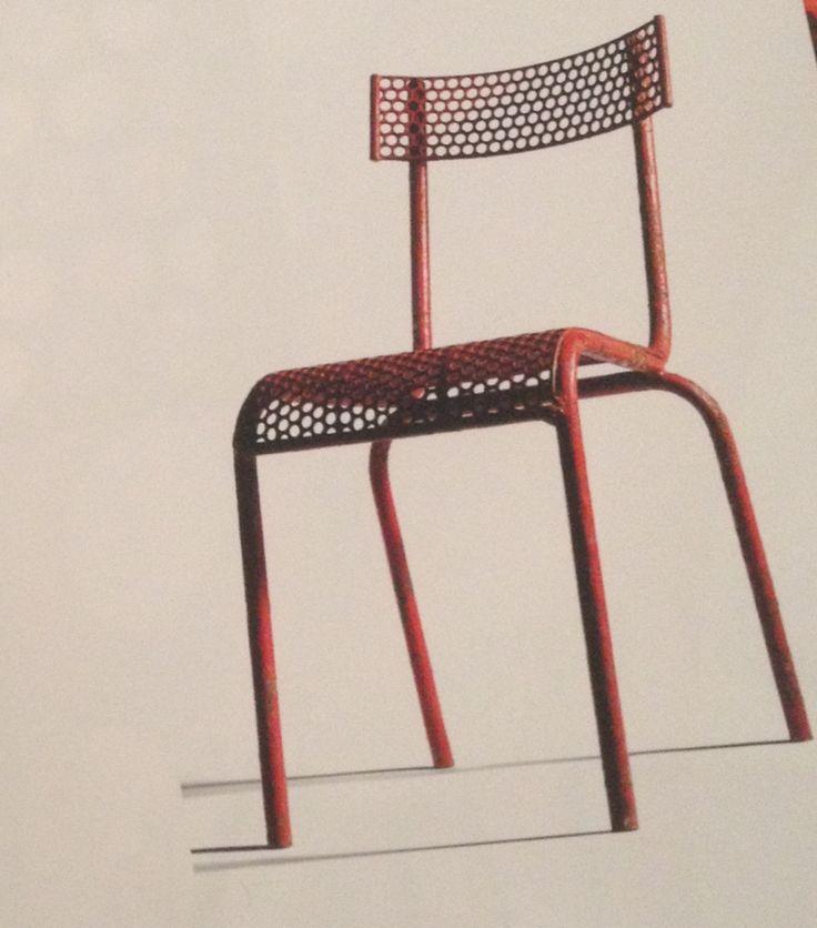 Blocmétal Chair. René Malaval. 1945.