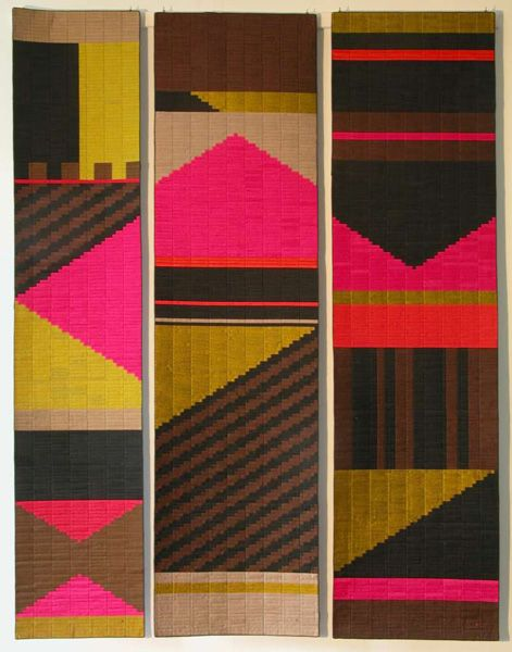Lucienne Day | Three Daughters of Mexico | silk | 1450 mm x 1880 mm | U.K. | 1995