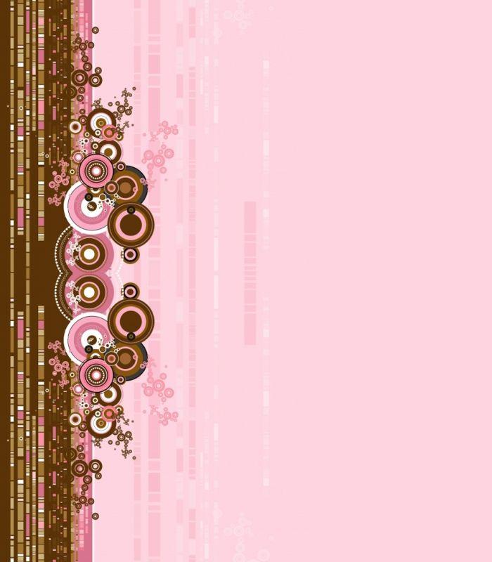Brown And Pink Background Pink Swirls Pink Background