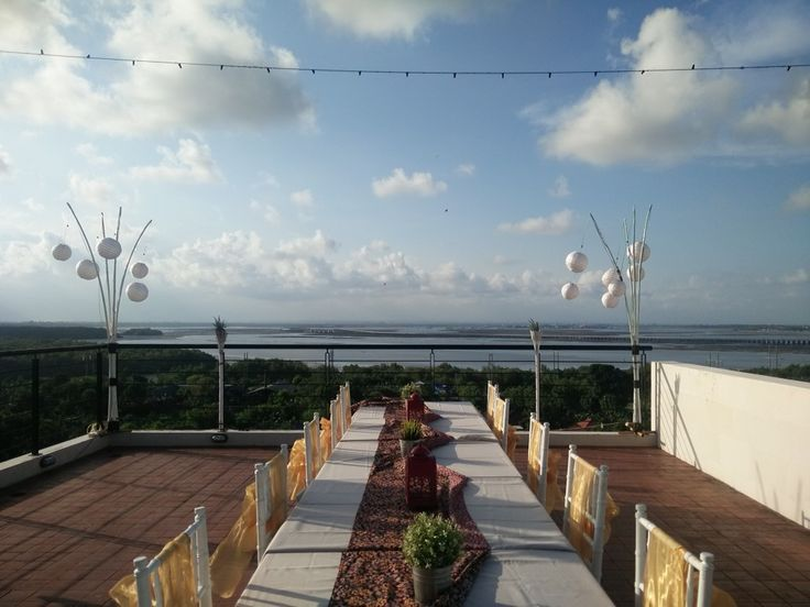 Our view from Nibiru Roof Top - Mahogany Hotel Nusa Dua Bali-