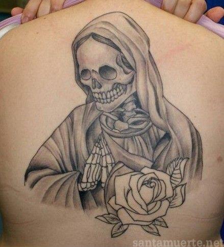 Les 25 meilleures idées de la catégorie La santa muerte tattoo sur ...