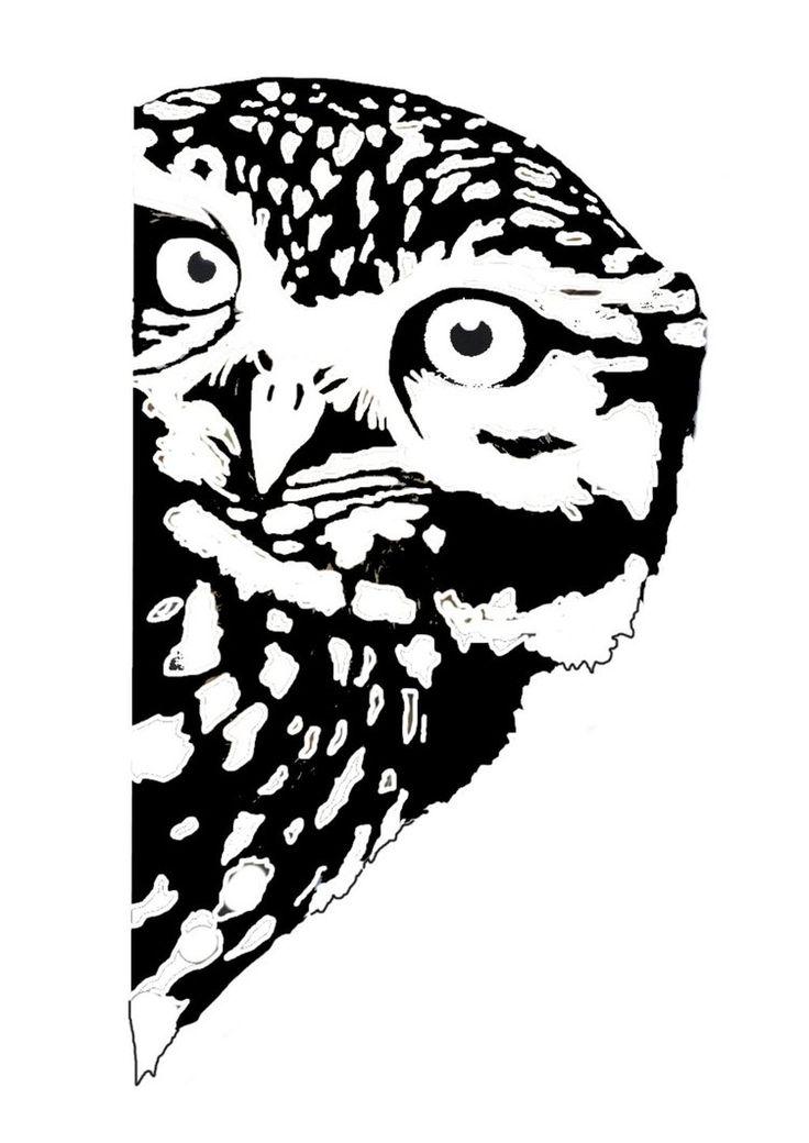 owl stencil - Google Search