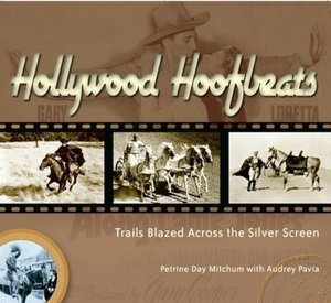 Hollywood Hoofbeats by Robert Mitchum's daughter Petrine Day Mitchum. A beautiful coffee table book with many full color photos of horses in movies. I love this book! You can read more about it at http://ilovehorses.net/blog/history-2/the-humane-movement-goes-to-hollywood-to-protect-horses/