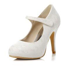Bröllopsskor - $62.99 - Kvinnor Spetsar Stilettklack Stängt Toe Pumps med Andra  http://www.dressfirst.se/Kvinnor-Spetsar-Stilettklack-Staengt-Toe-Pumps-Med-Andra-047047996-g47996