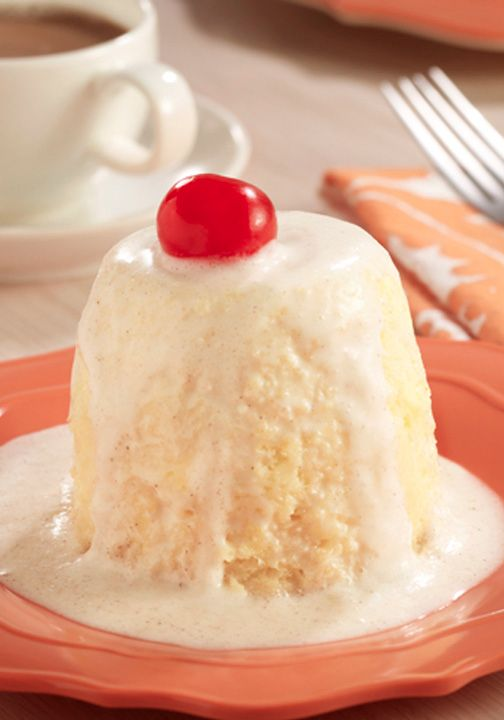 Our new Tres Leche Mug Cake only takes 15 minutes and you'll have a delicious dessert your whole family will love!