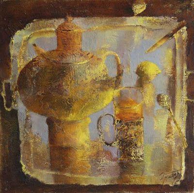 Still Life Paintings by Andrey Aranyshev Russian Artist