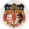 -Bush, George: Campaign button [Credit: Encyclopædia Britannica, Inc.]- defeated Michael Dukakis - in office Jan 1989- 1995