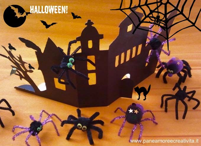 Haunted House out of a cereal box!