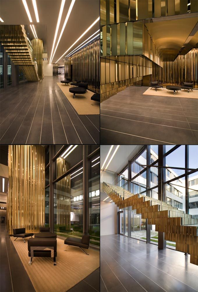 108 best images about going for gold on pinterest - Office building interior design ideas ...