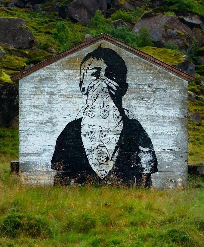 Dolk /// Teddy Bear Rioter, Lofoten