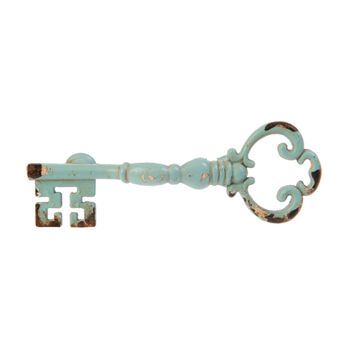 key shaped drawer pull handle by lindsay interiors | notonthehighstreet.com