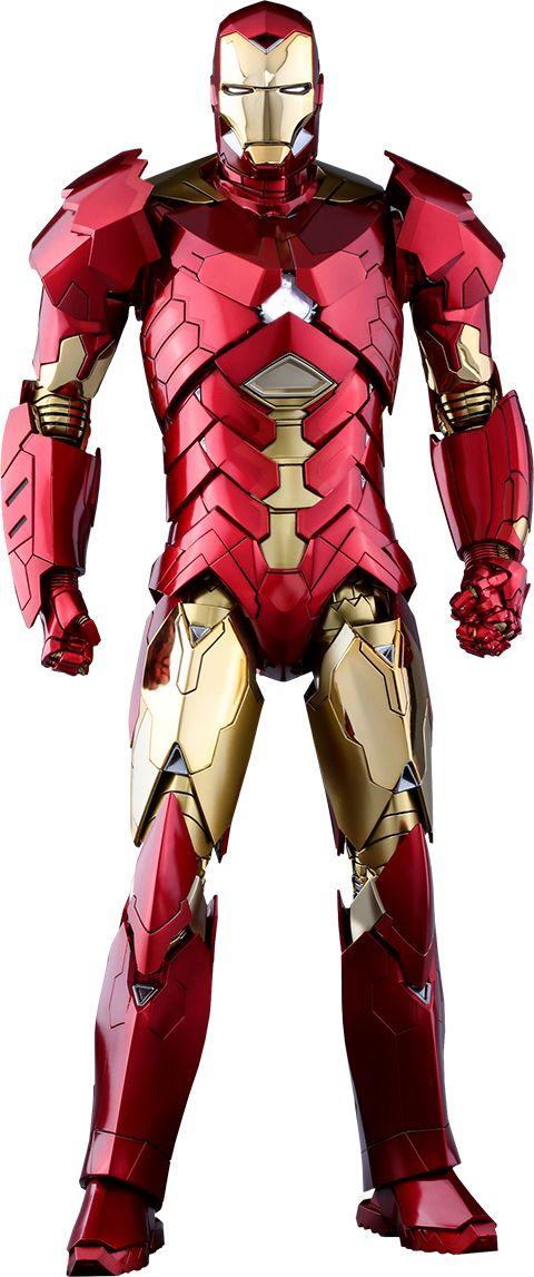 Iron Man Mark XV – Sneaky (Retro Armor Version) Sixth Scale Figure by Hot Toys Movie Masterpiece Series
