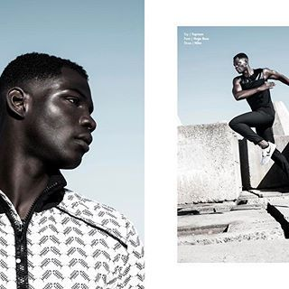 "now on imutemagazine.com • #webitorial ""Breakwater"" shot by @tobiasmarcusphotos for @imutemagazine • #model | @dennis.yeboah @ @20modelmanagement  #stylist | Style Council #grooming | @myfloatingbrush • see the full story on #imutemagazine, link in bio • #nofilter #fashion #moda #style #editorial #photo #photoshoot #imute #topman #hugoboss #nike #sport"