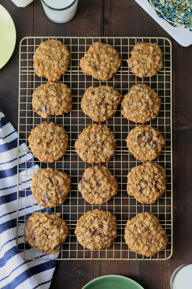 Classic Chewy Oatmeal Chocolate Chunk and Ginger Cookies  //  joy the baker