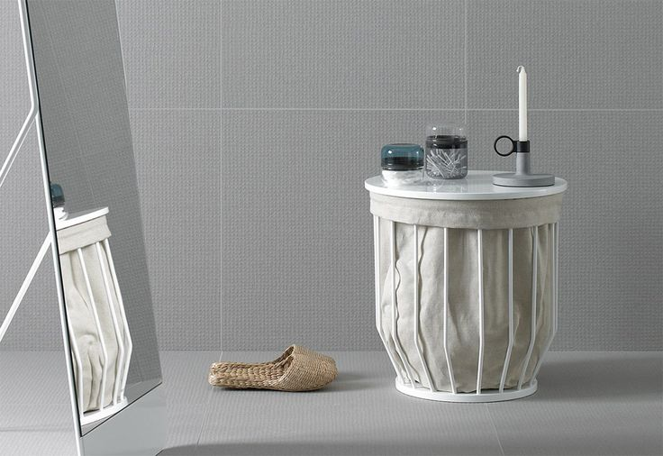 12 space savers: short on space big on style: Inbani, coffee table/ laudry hamper Bowl