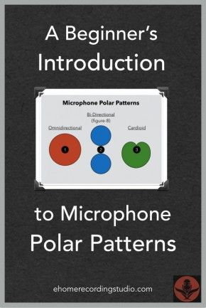 Microphone Polar Patterns: The Complete Beginner's Introduction http://ehomerecordingstudio.com/microphone-polar-patterns/