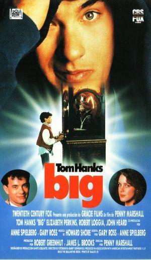 Nunca me aburría de verla... es mi película favorita de Tom Hanks... lo máximo!!! cuando niño, también quería ser grande.... como son las cosas, ahora quisiera ser un niño....