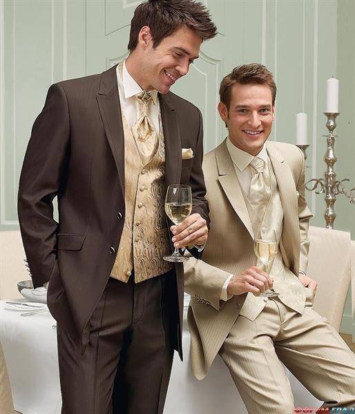 Какой цвет свадебного костюма выбрать для светлого типа