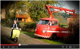 """Petit Crucq - Passe le temps   Les Combi Volkswagen sont à l'honneur  Découvrez leur dernière album """"Passe le temps"""""""