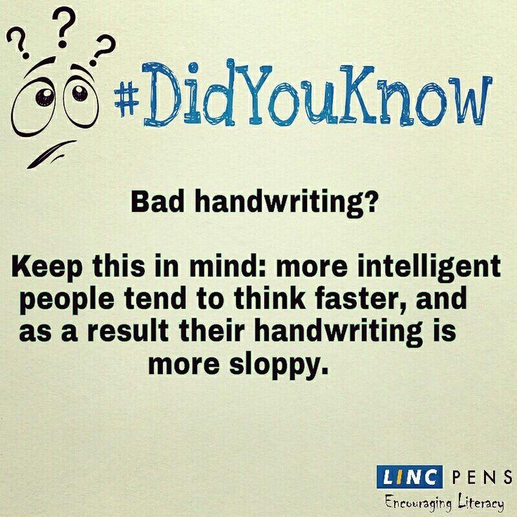 #handwriting #intelligence #DidYouKnow