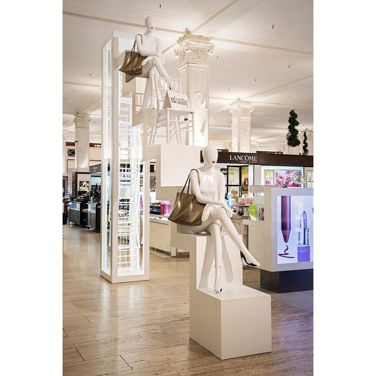 "SAKS FIFTH AVENUE, New York, ""Front Row Beauty"", creative by Richard Victor, pinned by Ton van der Veer"