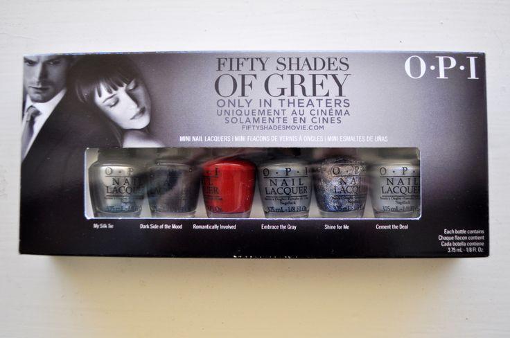 Fifty Shades of Grey OPI Nail Polish Set   Set Forth in Style