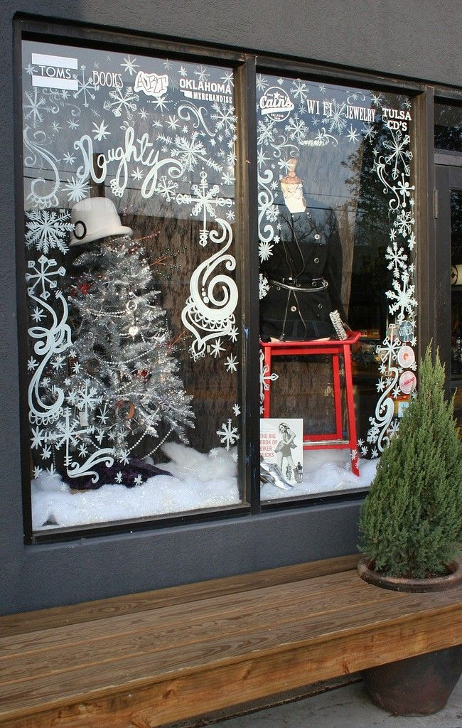 CHRISTMAS WINDOW DISPLAY!!!