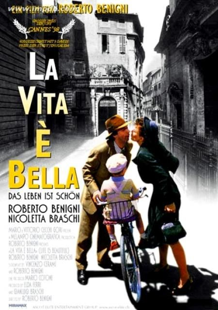 La Vita e Bella ~ Life is Beautiful. Wonderful movie! Love ~ kids~ emotional