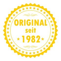 Original seit 1982. Tolles Geburtstags Shirt Motiv