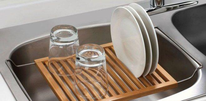 Kleine Küche einrichten: Benutze deine Spüle