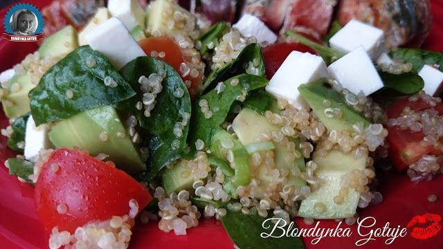 Blondynka Gotuje: Jak Ugotować Quinoa (Komosa Ryżowa) i Energetyzują...
