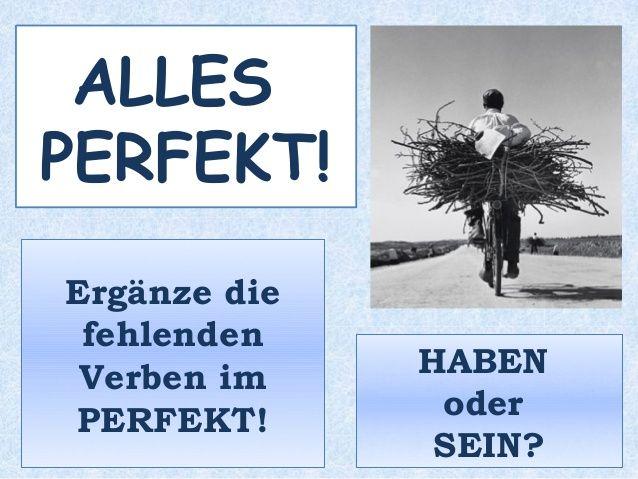 PERFEKT - B1 - Übung 2 zum Perfekt -Hast du schon mal...?