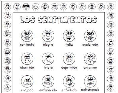 Worksheets Spanish Beginner Worksheets 1000 images about learning spanish on pinterest this popular activity set contains a full page introductory poster of 20 emotions or feelings emociones o sentimientos with assortmen