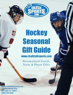 Hockey Seasonal Gift Guide 2014  Personalized Coach, Team and Player Gifts