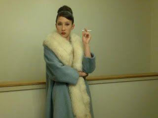 The Couture Courtesan: Lilli Ann Fox Fur Coat for Sale!