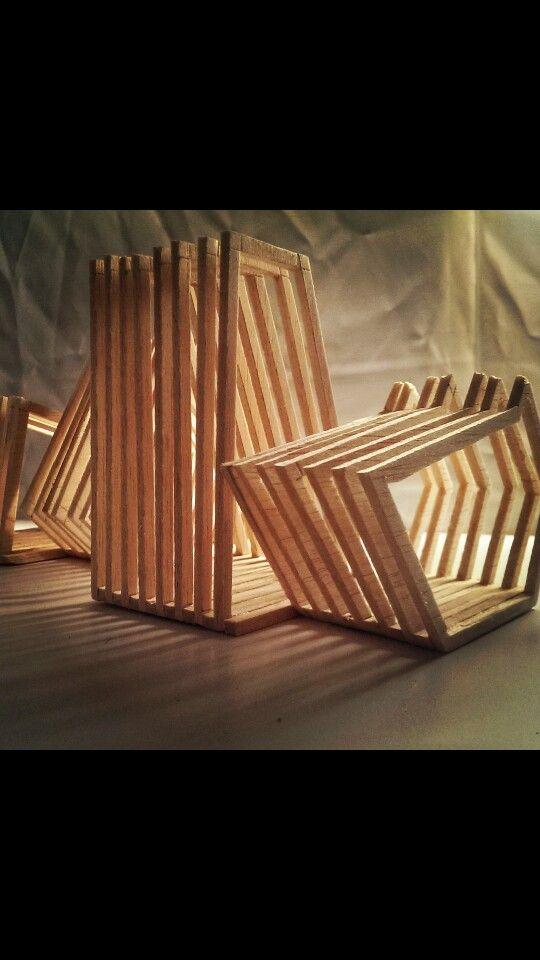 Timber concept model architecture folio pinterest models for Architectural concept models