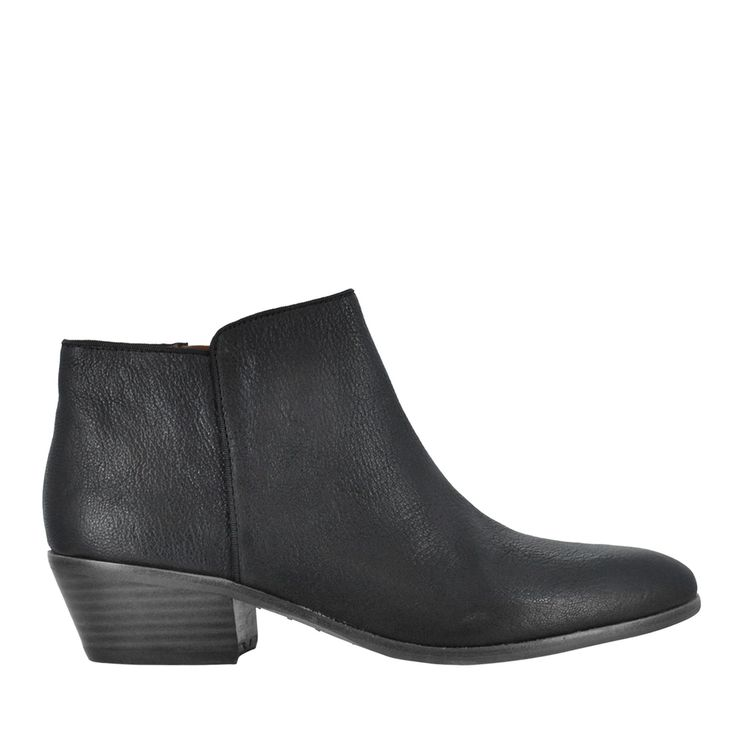 Side Zip Ankle Bootie