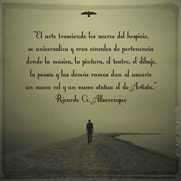 Ricardo Gabriel Albarenque poesía salud mental palabras
