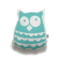 Cushion . Ollie Owl - Mint