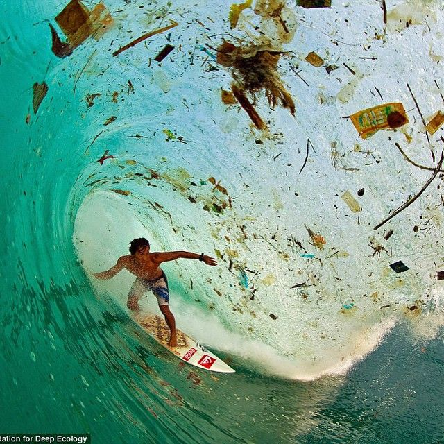 The foundation for deep ecology and population media centre released images showing us how much we are destroying the planet. People need to stop pretending everything is as beautiful as it was. My heavy heart!