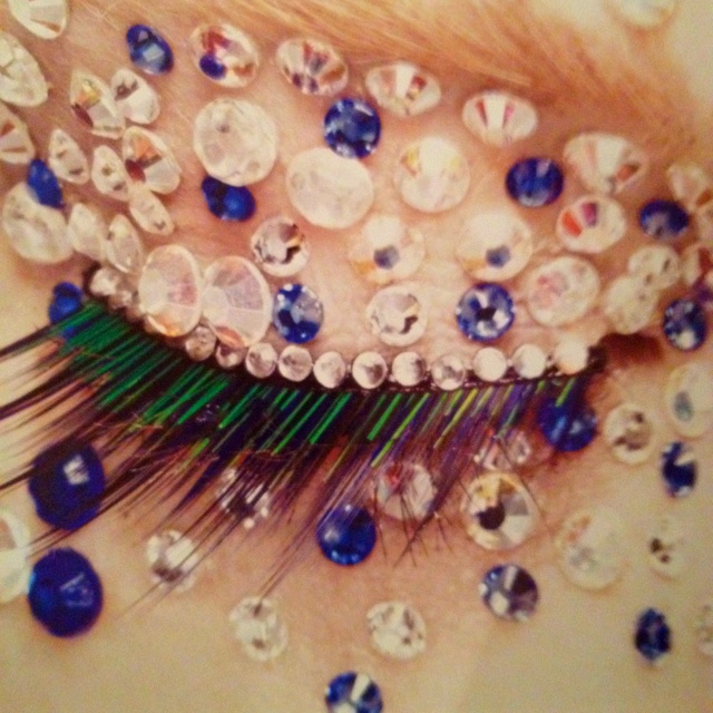 From the book Makeup is Art. AOFM ProMake Up, Editorial Face, Beautiful, Sequins Makeup, Book Makeup, Art Aofmpro