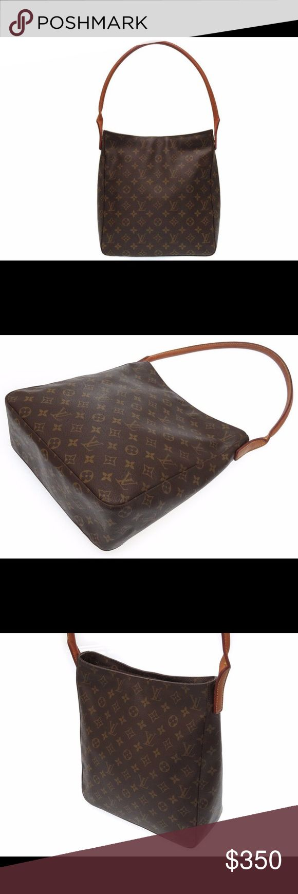 Authentic Louis Vuitton looping GM Very good preowned condition .price is firm .no trades .109% authentic Louis Vuitton Bags Shoulder Bags