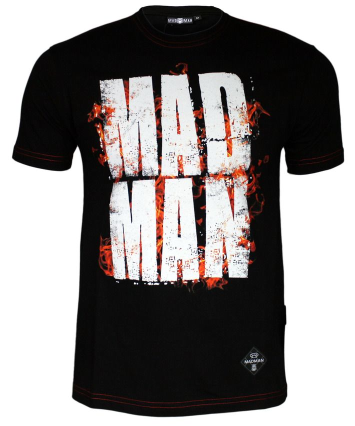 Koszulka 'Burn' - przód ---> Streetwear shop: odzież uliczna, kibicowska i patriotyczna / Przepnij Pina!