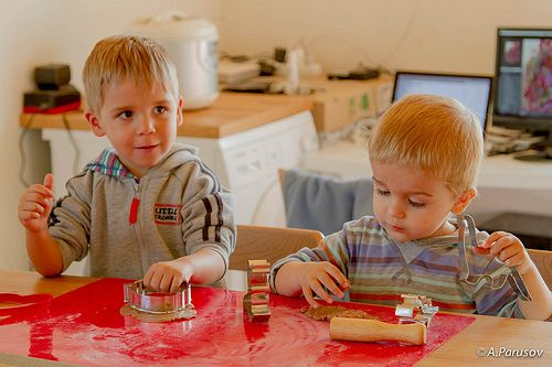 Boys on the gingerbread master class