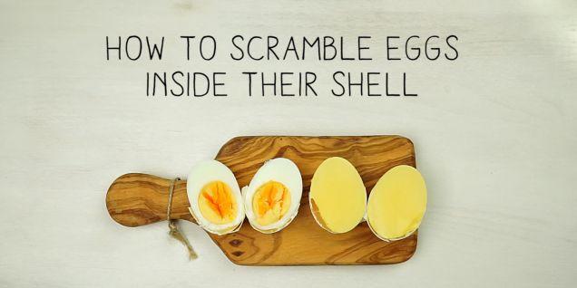 Det här roliga knepet kommer du att vilja testa på en gång. Allt du behöver är en t-shirt, tråd, ficklampa, plastpåse och ägg. Kolla in klippet! Läs också: Koka ägg – så blir det perfekt varje gång Läs också: 8 nya recept med ägg   Text: Julia Wiberg